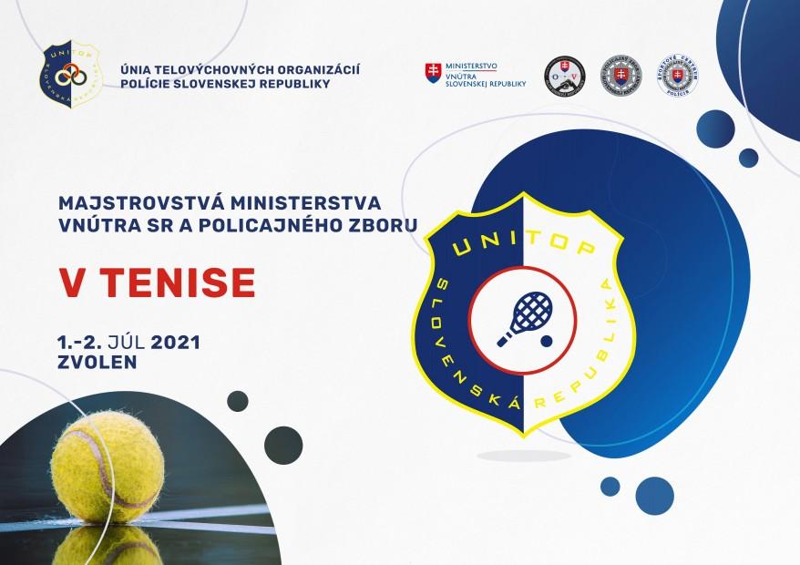 Majstrovstvá MV SR a PZ v tenise budú 1. a 2. júla