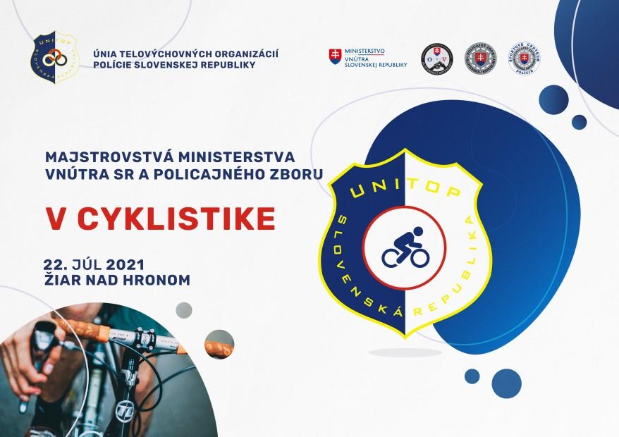 Policajti budú súťažiť na vôbec prvých majstrovstvách SR v cestnej cyklistike